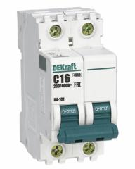 DEKraft Автоматический выключатель ВА101-2P-016A-C (11066DEK)