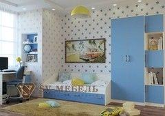 Детская комната Детская комната SV-Мебель Бэмби-4 0048 (ваниль/синий)