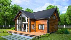 Каркасный дом Каркасный дом ИП Сопин А.В. Пример 291