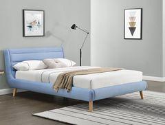 Кровать Кровать Halmar Elanda 160 (светло-синий)