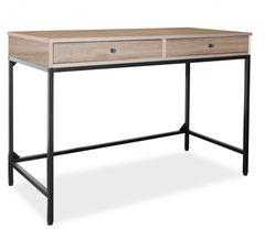 Письменный стол Signal B-187 (дуб/черный)