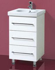 Мебель для ванной комнаты Акваль Тумба с умывальником Паола 50