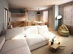 Дизайн гостиной ХоумСистемс Проект 5
