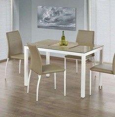 Обеденный стол Обеденный стол Halmar Timber (белый)