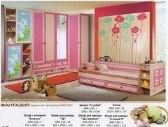 Детская комната Детская комната Калинковичский мебельный комбинат Фантазия (вариант 2)