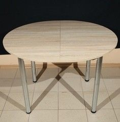 Обеденный стол Обеденный стол ИП Колеченок И.В. Стол круглый раздвижной 1100x1000