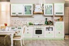Кухня Кухня Любимый Дом Амели 2 (Дуб Прованс зеленый)