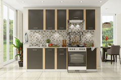 Кухня Кухня Stolline Бланка Стл.094.00 + Стл.095.00 (2.4 м) белый/венге