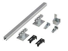 Комплектующие для ворот DoorHan Система роликов и направляющих для балки х/к 71x60x3,5 L=6240мм