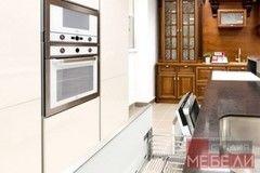 Кухня Кухня Студия мебели ЛДВ Белая из пластика