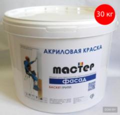 Краска Краска Мастер Фасад акриловая (фактурная) ЗДПС, под валик (30кг)