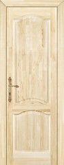 Межкомнатная дверь Межкомнатная дверь из массива Поставский мебельный центр М16 ДГФ неокрашенная