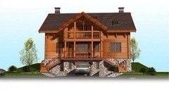Загородный дом проект Проект дома Деревянный 3