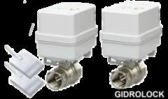Комплектующие для систем водоснабжения и отопления GIDROLOCK Защита от протечек воды Winner 1/2