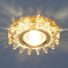Встраиваемый светильник Elektrostandard 6037 MR16 YL/GD зеркальный/золото