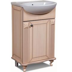 Мебель для ванной комнаты Калинковичский мебельный комбинат Тумба 500 Баккара КМК 0453.6 (дуб молочный)