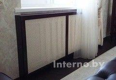 Экран для радиаторов Interno.by МДФ шпонированный 3