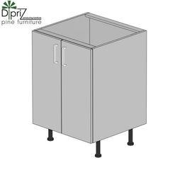 Кухонный шкаф Кухонный шкаф Диприз Шкаф нижний двойной 60 Д 9001-27