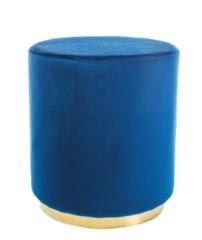 Пуфик Пуфик Signal Furla (синий/золото)