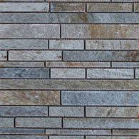 Натуральный камень Натуральный камень АЛЬТЕРфасад Мозаика из сланца Strip (с большим содерж. кварца)