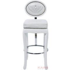 Барный стул Барный стул KARE Design Rockstar Барный стул белый 75780
