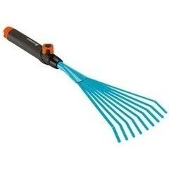 Посадочный инструмент, садовый инвентарь, инструменты для обработки почвы Gardena Грабли ручные для комбисистемы 8918