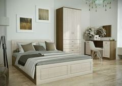 Спальня Настоящая мебель Ницца №4 ясень