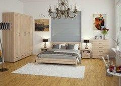Кровать Кровать БелДрев Линда (дуб сонома)