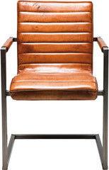 Офисное кресло Офисное кресло Kare Cantilever Chair Riffle Buffalo Brown 77640
