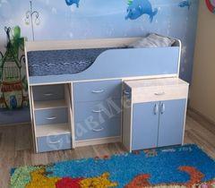 Двухъярусная кровать СлавМебель Кузя-7 мини