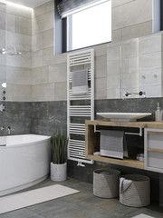 Дизайн ванной PuzzleHome Вариант 17