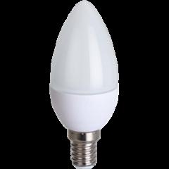 Лампа Лампа Ecola Candle LED 8,0W 220V E14 4000K свеча (композит) 100x37