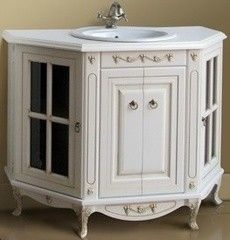 Мебель для ванной комнаты Атолл Тумба Полини 120 dorato (столешница из камня)