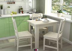 Обеденный стол Обеденный стол Стендмебель раскладной-1 (Дуб Белфорт/Шимо светлый)
