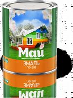 Эмаль Эмаль Ярославские краски МАЙ ПФ-266 для пола желто-коричневая, 1,9 кг