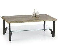 Журнальный столик Halmar Xena (дикий дуб/черный)