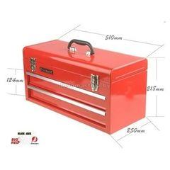 Big Red Ящик инструментальный (2 выдвижных полки, откидной верх) BIG RED (br-TBD132G(tb132))