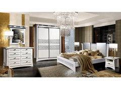 Спальня Гомельдрев Киото-80.1 ГМ 5080 белый перламутр