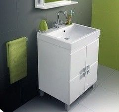 Мебель для ванной комнаты Belux Импульс Н-75-01К с корзиной для белья