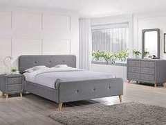 Кровать Кровать Signal Malmo 180x200 (серый)