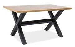 Обеденный стол Обеденный стол Signal Xaviero 150 (дуб натуральный/черный)