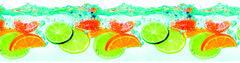 Скинали АртДекАрт Термо 2м Цитрусы (фрукты в воде)