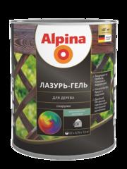 Защитный состав Защитный состав Alpina Лазурь-гель для дерева, шелковисто-матовая (2.5 л)