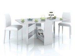 Обеденный стол Обеденный стол Тэкс Стол-книжка белый