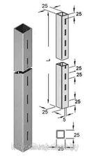 Торговая мебель Торговая мебель Интерсилуэт Стойка односторонняя «Элемент» 25х25мм, высота 2,0м