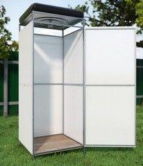 Летний душ для дачи Летний душ для дачи Alsta с подогревом