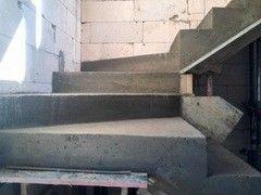 Лестница из бетона Монолит Пример 50