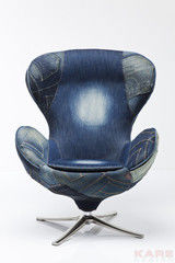 Офисное кресло Офисное кресло Kare Swivel Chair Lounge Jeans 77623