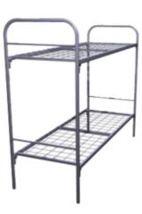 Двухъярусная кровать Европротект 2КС-1 металлическая (80x190см)