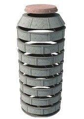Полимерпесчаный колодец Спецкоммунтранс Готовое решение (высота - 2м)
